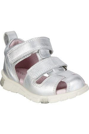 Ecco Sandal - Silver Metallic