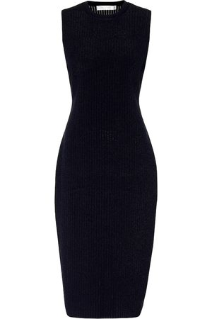 Victoria Beckham Stretch-knit midi dress