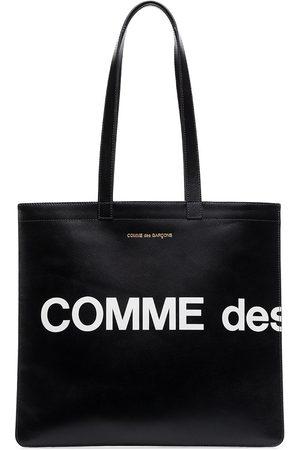 Comme des Garçons Mænd Shoppers & Stofposer - Logo tote bag