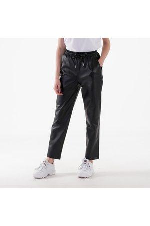 NA-KD Kvinder Bukser - Drawstring pu pants