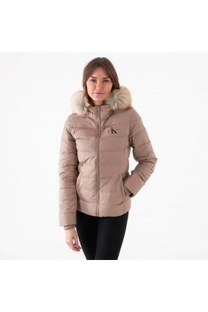 Calvin Klein Short fitted puffer jacket