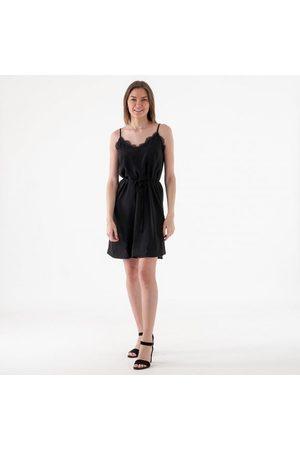 Vila Ia lace strap dress