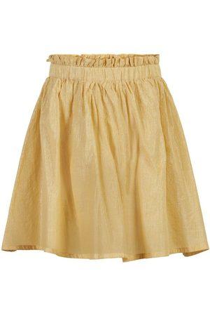 Creamie Skirt Silver Stripe