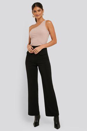 NA-KD Kvinder Habitbukser - Flared Suit Pants