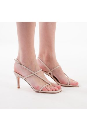 NA-KD Strappy stiletto sandals