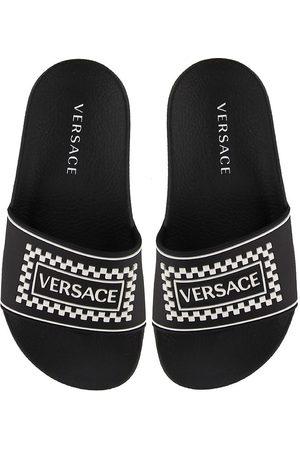 VERSACE Sandaler - Versace Badesandaler - m. Logo