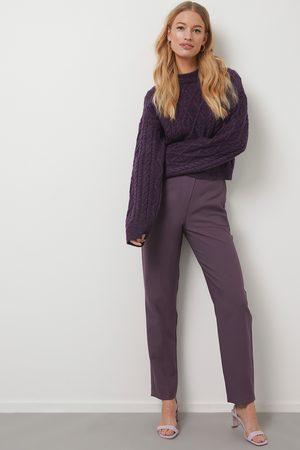 NA-KD Kvinder Habitbukser - Straight Suit Pants