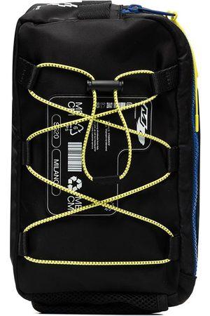 Marcelo Burlon County Of Milan Logo patch lace-up crossbody bag