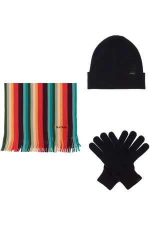 Paul Smith Mænd Hatte - Hat, tørklæde og handsker sæt