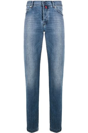 Kiton Mænd Straight - Low rise straight leg jeans
