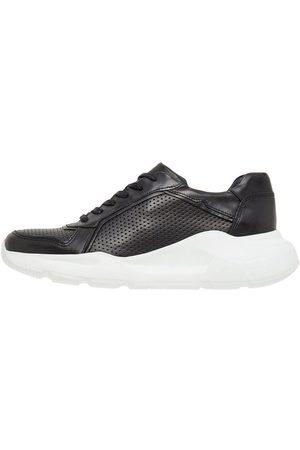 Bianco Kvinder Sneakers - Leather Trainers Kvinder Sort