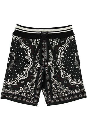 Dolce & Gabbana Sweatshorts - DNA - m. Mønster