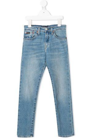 Ralph Lauren Jeans med lige ben og mellemhøj talje