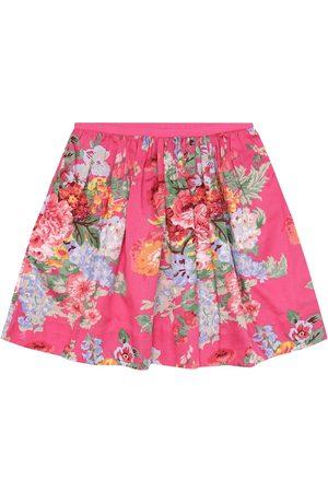 Ralph Lauren Piger Nederdele - Floral cotton skirt