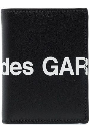 Comme des Garçons Mænd Punge - Logo print wallet