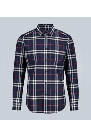 Burberry Kvinder Toppe - Vintage Check cotton shirt