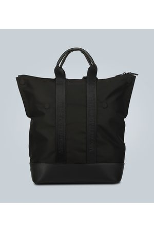 Alexander McQueen Kvinder Rygsække - Leather-trimmed convertible backpack