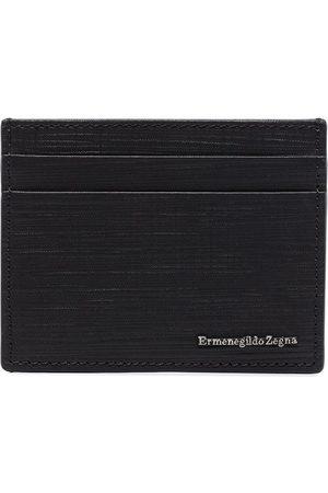 Ermenegildo Zegna Logo embossed cardholder