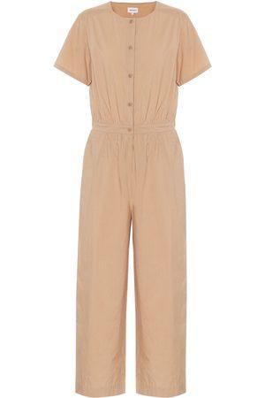 Woolrich Cotton-poplin jumpsuit