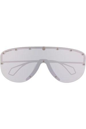 Gucci Oversized mask sunglasses