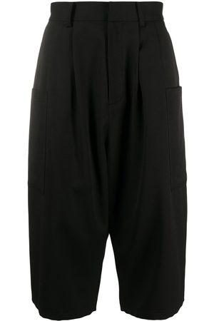 AMBUSH Dropped crotch long shorts