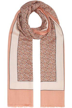 Burberry Tørklæde med monogram-mønster