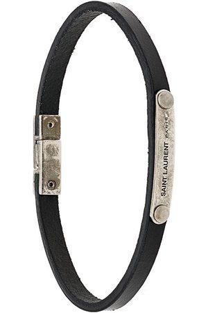 Saint Laurent Armbånd - Armbånd med indgraveret plade