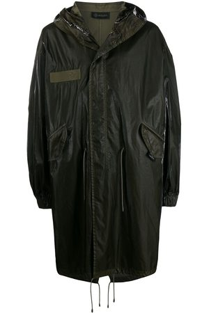 Mr & Mrs Italy High-shine parka