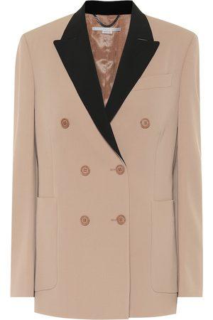 Stella McCartney Stretch-wool double-breasted blazer