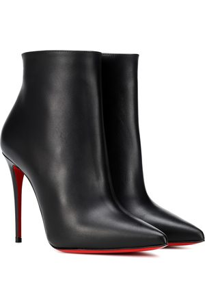 Christian Louboutin So Kate 100 leather ankle boots