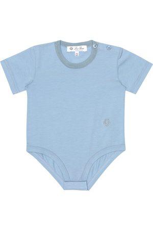 Loro Piana Baby stretch-cotton onesie