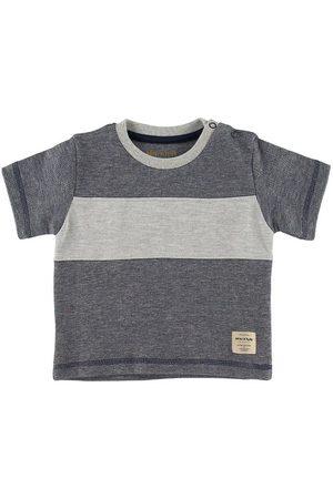 Mini A Ture Kortærmede - T-shirt - Lyad - Ombre Blue