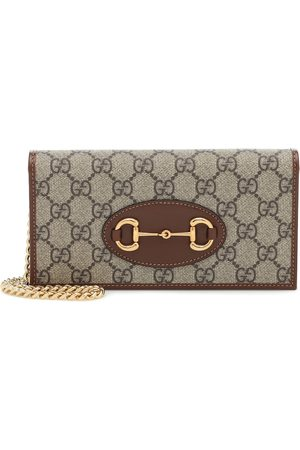 Gucci Kvinder Clutches - 1955 Horsebit canvas clutch