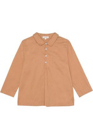 Caramel Westminster cotton shirt