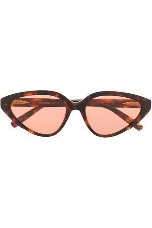 Missoni Cat-eye-briller med skildpaddeskjoldeffekt