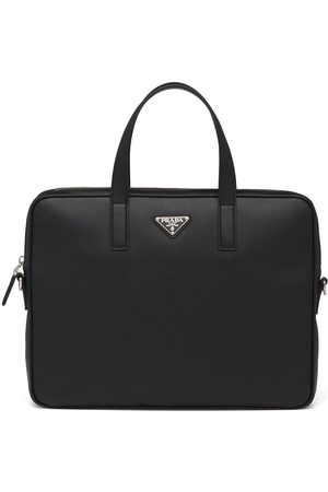 Prada Mænd Laptop Tasker - Mappe i saffiano-læder