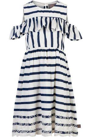 Creamie Dress Cotton Stripes