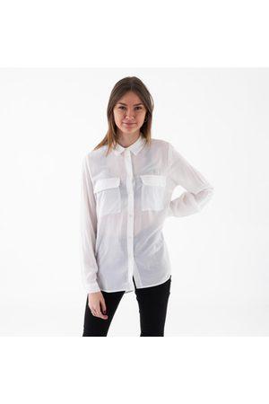 Vila Kvinder Bukser - Vithoma ls shirt