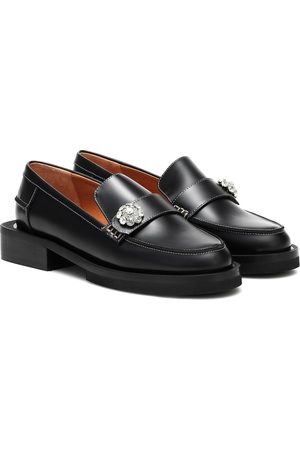 Ganni Kvinder Flade sko - Jewel leather loafers