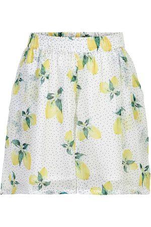Creamie Piger Shorts - Shorts Lemon Chiffon
