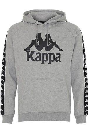 Kappa Hættetrøje - Banda Bzaba - Gråmeleret m. Logo