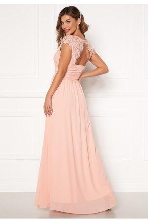 Chiara Forthi Kvinder Festkjoler - Amante lace Gown Apricote 36