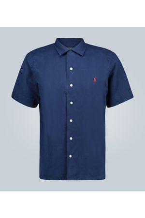 Polo Ralph Lauren Linen-blend short-sleeved shirt