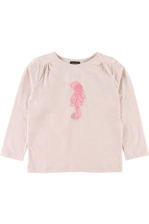 Mini A Ture Kortærmede - T-shirt - Anelle - Rosa m. Kat