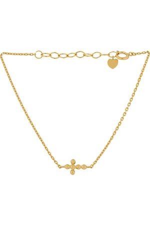 Pernille Corydon Cross Bracelet 15-18 Cm Adj. Accessories Jewellery Bracelets Chain Bracelets