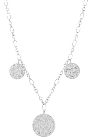 Pernille Corydon New Moon Necklace Adj.40-48 Accessories Jewellery Necklaces Dainty Necklaces