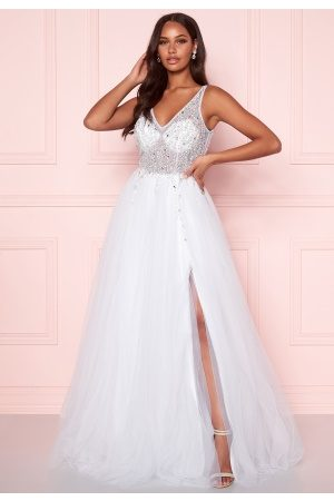 Christian Koehlert Paris Sparkling Tulle Wedding Dress Snow White 36