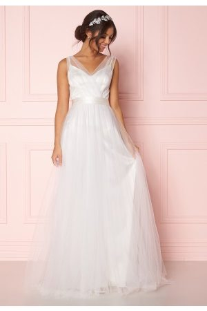 Zetterberg Couture Nadja Long Bridal Dress Ivory 34