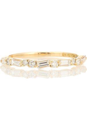 Suzanne Kalan Kvinder Ringe - 18kt yellow gold ring with diamonds
