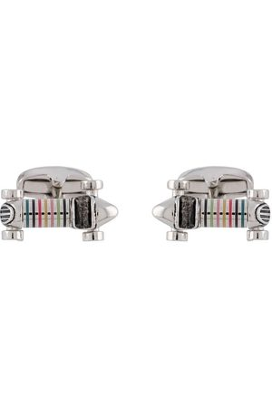 Paul Smith Mænd Manchetknapper - Striped car cufflinks